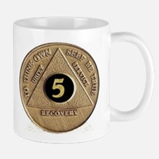 5 YEAR COIN Small Mugs