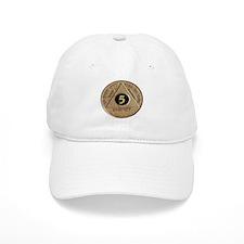 5 YEAR COIN Baseball Cap