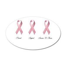 Pink Ribbon 2 Wall Decal