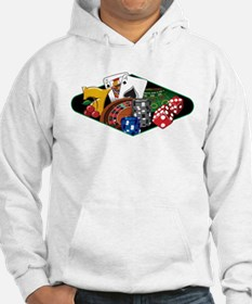 Casino Games Collage Hoodie