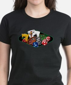 Casino Games Collage Tee