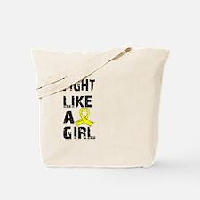 Licensed Fight Like A Girl 21.8 Endometri Tote Bag