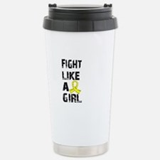 Licensed Fight Like A G Stainless Steel Travel Mug