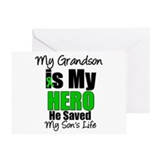 Grandson Hero Saved Son Greeting Card
