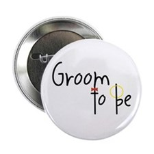 Groom To Be Button