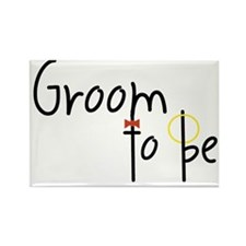Groom To Be Rectangle Magnet