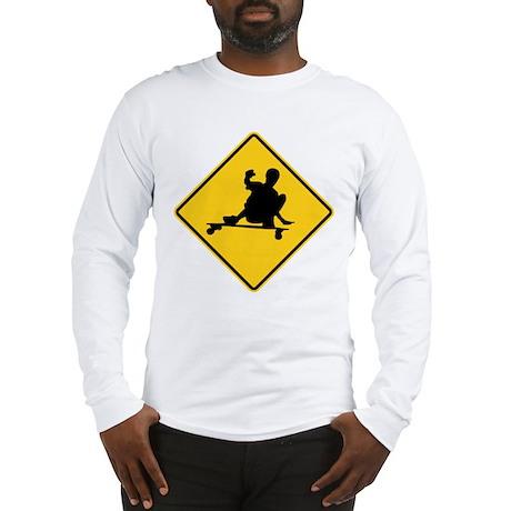 Slide area Long Sleeve T-Shirt