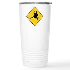 Slide area Ceramic Travel Mug