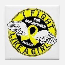 Licensed Fight Like A Girl 16.5 Endom Tile Coaster