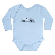 957 Chevrolet Sedan Long Sleeve Infant Bodysuit