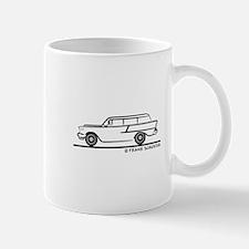 1957 Chevrolet 1-50 Stationwagon Mug