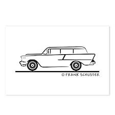 1957 Chevrolet 1-50 Stationwagon Postcards (Packag