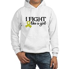Licensed Fight Like A Girl 18.7 Hoodie