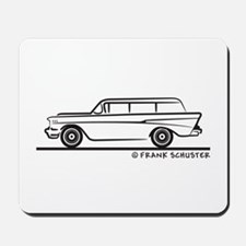 1957 Chevy 2-10 Stationwagon Mousepad