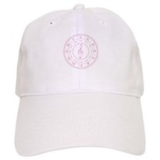 Pink Circle of Fifths Baseball Cap