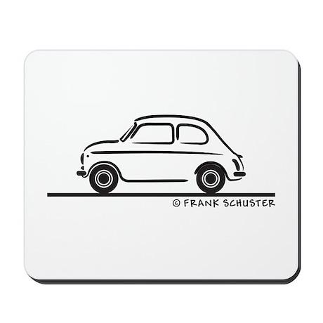 Fiat 500 Cinquecento Mousepad