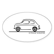 Fiat 500 Cinquecento Decal