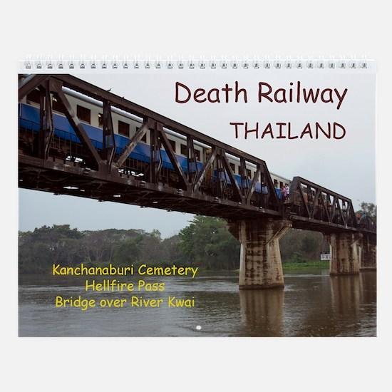 Death Railway Thailand Wall Calendar
