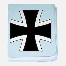 Iron Cross Baby Blanket
