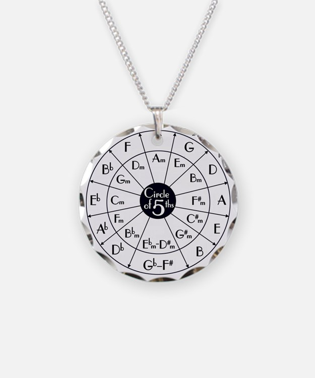 Cute Circle of fifths Necklace