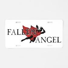 Fallen Angel Aluminum License Plate