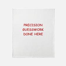 funny science joke Throw Blanket