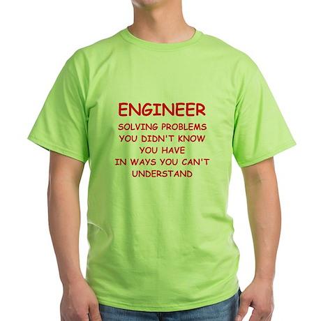 funny science joke Green T-Shirt