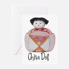 China Doll Greeting Cards (Pk of 10)