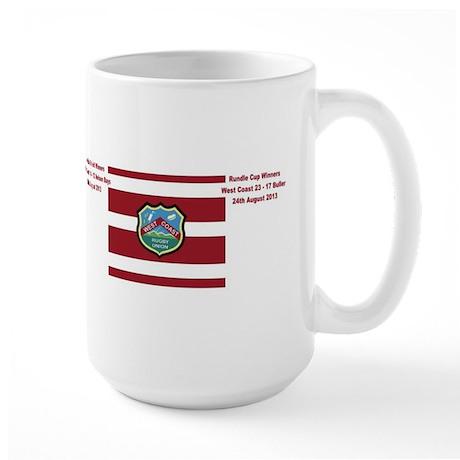 West Coast Rugby Supporters Large Mug