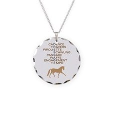 dressage speak Necklace