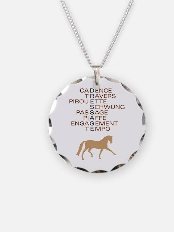 dressage speak Necklace