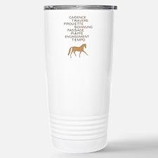 dressage speak Travel Mug