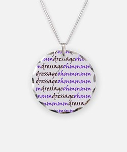 Funny Horse trainer Necklace