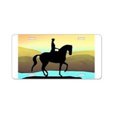 Dressage By The Sea Aluminum License Plate