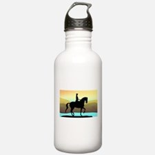 Dressage By The Sea Water Bottle