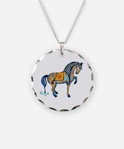 Tang Horse Two Necklace