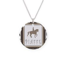 Piaffe Rider in Brown/Tan Necklace