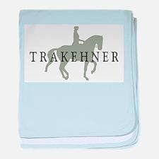 Piaffe - Trakehner baby blanket