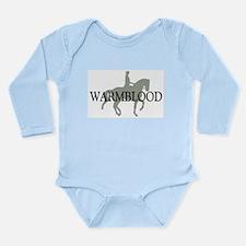 Piaffe Warmblood Long Sleeve Infant Bodysuit