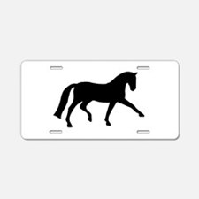 dressage extended trot Aluminum License Plate