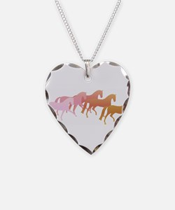 many horses Necklace
