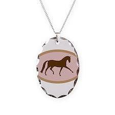 dressage horse Necklace