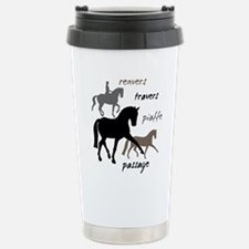 Dressage Movements Trio Stainless Steel Travel Mug