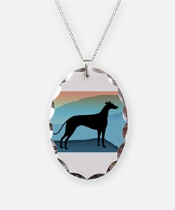 Greyhound Blue Mountains Necklace