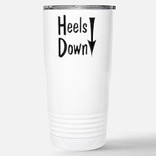 Heels Down! Arrow Stainless Steel Travel Mug