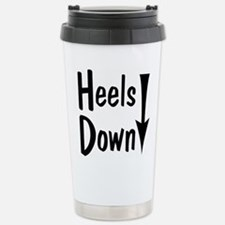 Heels Down! Arrow Travel Mug