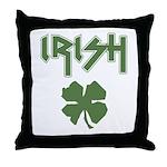 Irish Heavy Metal Throw Pillow