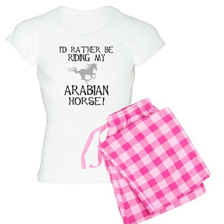 Rather-Arabian Horse! Women's Light Pajamas