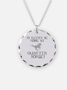 Rather...Q-Horse! Necklace