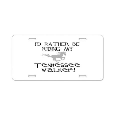 Rather-Tennessee Walker Aluminum License Plate